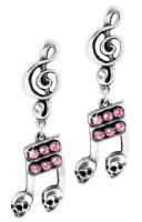 ULFE17 Dead Note Earrings (Pair!)